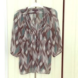 Banana Republic sheer top